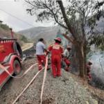 Extinguen cuatro incendios forestales en Apurímac y uno en Cusco