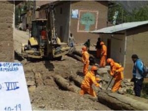 Huánuco: Rehabilitan puente vehicular en Llata
