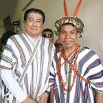"""Ministro Yañez: """"Vamos a sacar adelante el proyecto de agua y saneamiento para la población de Potsoteni"""""""