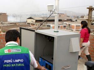 Implementan diagnóstico actualizado sobre la calidad del aire en Lima