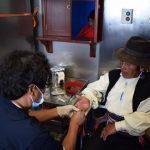 Puno: Culminan campaña de acción social para familias quechuas y aymaras