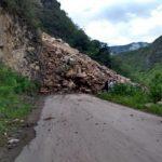 Reconstruyen vías afectadas por derrumbes en Amazonas y Huancavelica