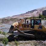 Supervisan trabajos de descolmatación en cuencas de Arequipa