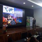 Biólogo Sandro Chávez expuso en el Congreso de Bioconciencia Planetaria en Paraguay