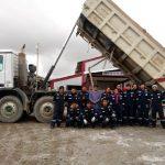 Capacitan a jóvenes de Pasco como auxiliares de soldadura y auxiliares mecánicos en equipos pesados