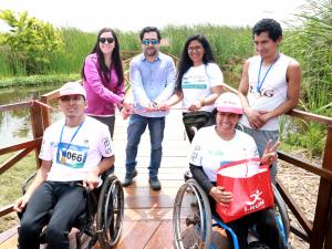 Facilitan acceso a personas con discapacidad en Los Pantanos de Villa