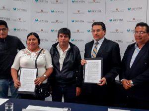 Entregarán módulos de procesamiento a productores agrícolas en el Alto Huallaga