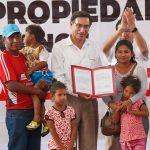 Entregan más de 1500 títulos de propiedad a familias e instituciones de Tumbes
