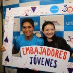 Joven actor ayacuchano es el nuevo embajador de Unicef en el Perú