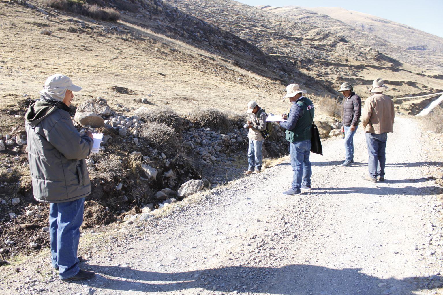 Cajamarca: Inician trabajo de campo para titulación de más de 200 predios - INFOREGION