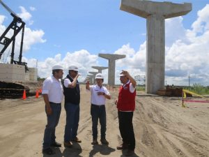 Inspeccionan puente Nanay que conectará comunidades de Loreto