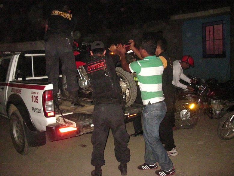 Condenan a cómplices de ladrones de motocicletas en Puerto Maldonado - INFOREGION