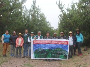 Resaltan beneficios de siembra de plantones a favor de comuneros en Canta
