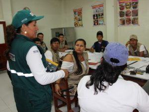 60 «yachachiq» capacitados para implementar tecnologías productivas con familias nativas