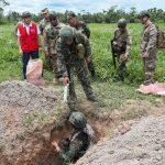 Destruyen 45 pistas clandestinas usadas por narcotraficantes
