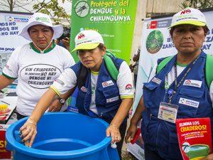 Fortalecen medidas de prevención contra el dengue, chikunguya y zika