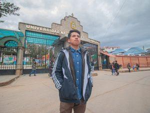 Huancavelica: Joven beneficiado de Beca 18 quiere construir casas más seguras