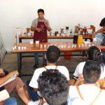 Vraem: Organizan taller de tostado, catación y elaboración de café