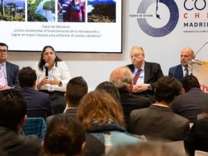 COP25: Ministros de Ambiente de América Latina y el Caribe suscriben Declaración de Restauración de Ecosistemas