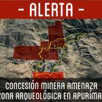 Concesión minera amenaza zona arqueológica en Apurímac