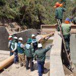 Huancavelica: Continúa ejecución de sistema de riego en Huaribamba