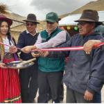 Moquegua: Entregan cobertizos para proteger a ganado ante heladas
