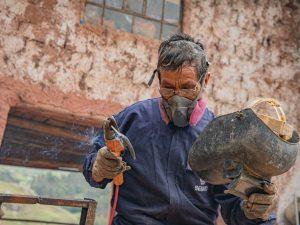 Guillermo Rojas: El soldador de Mara que no quiere dejar de estudiar