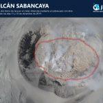 Arequipa: Sobrevuelan cráter del volcán Sabancaya y obtienen imágenes de lava