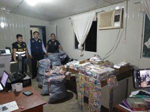 Decomisan 15 mil CD's y DVD's piratas en Puerto Maldonado