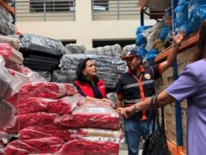 Dan 40 toneladas de ayuda humanitaria a Huánuco por intensas lluvias