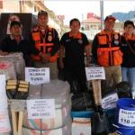 Pasco: Dan ayuda humanitaria a damnificados por inundación en Palcazú