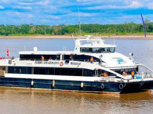 Loreto: MTC subvencionó pasajes en ferry Amazonas I por más de S/21.1 millones en 2019