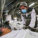 Despliegan hospitales móviles a regiones vulnerables para afrontar emergencias y desastres por lluvias
