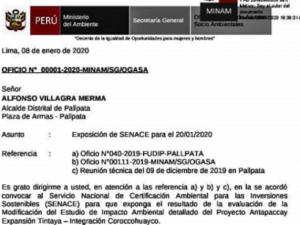 Espinar: Comunidades de zona de influencia de proyecto Coroccohuayco suspenden paro