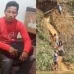 Líder indígena muere aplastado por obras de minería ilegal