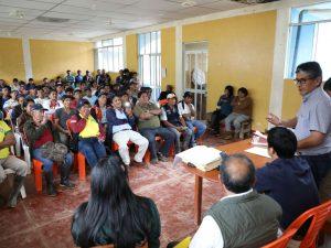 Junín: Retoman trabajos para titulación de predios rurales en Perené