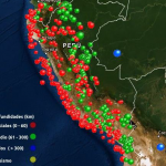 563 sismos se registraron en el país durante el 2019