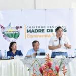 Ministra del Ambiente se reunió con alcaldes de Madre de Dios para viabilizar proyectos