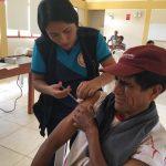 Huánuco: Vacunan a niños y adultos mayores contra el tétano y hepatitis B