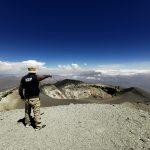 Toman imágenes térmicas del cráter del volcán Misti