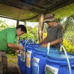 Promueven uso de abono orgánico en el Vraem