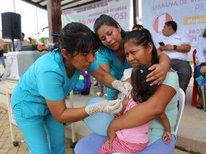 Madre de Dios: Vacunarán a niños contra la neumonía y meningitis