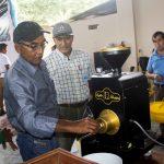 Huánuco: Capacitan a cafeteros sobre proceso de tostado del café