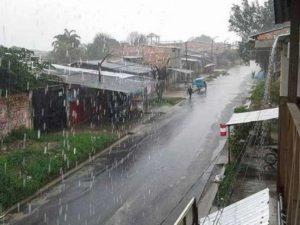 San Martín en alerta roja por lluvias