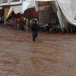 Cusco: Desborde fluvial inunda viviendas y calles en Pisac