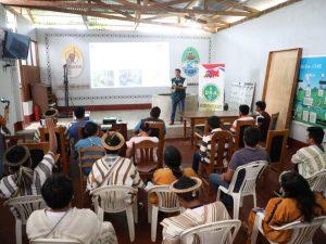 Junín: Nativos reciben capacitación sobre titulación en idioma asháninka
