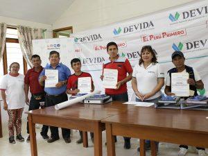 Devida realiza mantenimiento de infraestructuras comunales en San Martín
