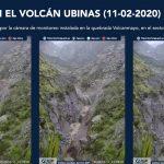 IGP divulgó información oportuna sobre descenso de lahares en laderas de volcanes Ubinas y Huaynaputina