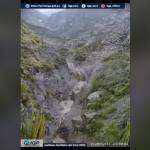 Alerta de lahar en el sur del Perú