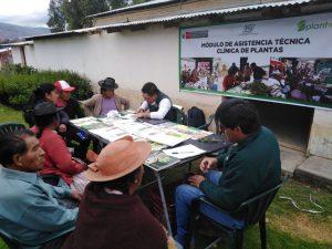 Agricultores de Junín, Huánuco y Huancavelica mejoran protección de cultivos ante plagas